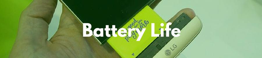 Samsung Galaxy S7 vs LG G5 Battery