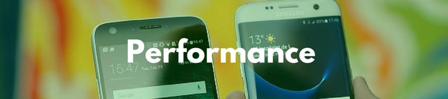 Samsung Galaxy S7 vs LG G5 performance