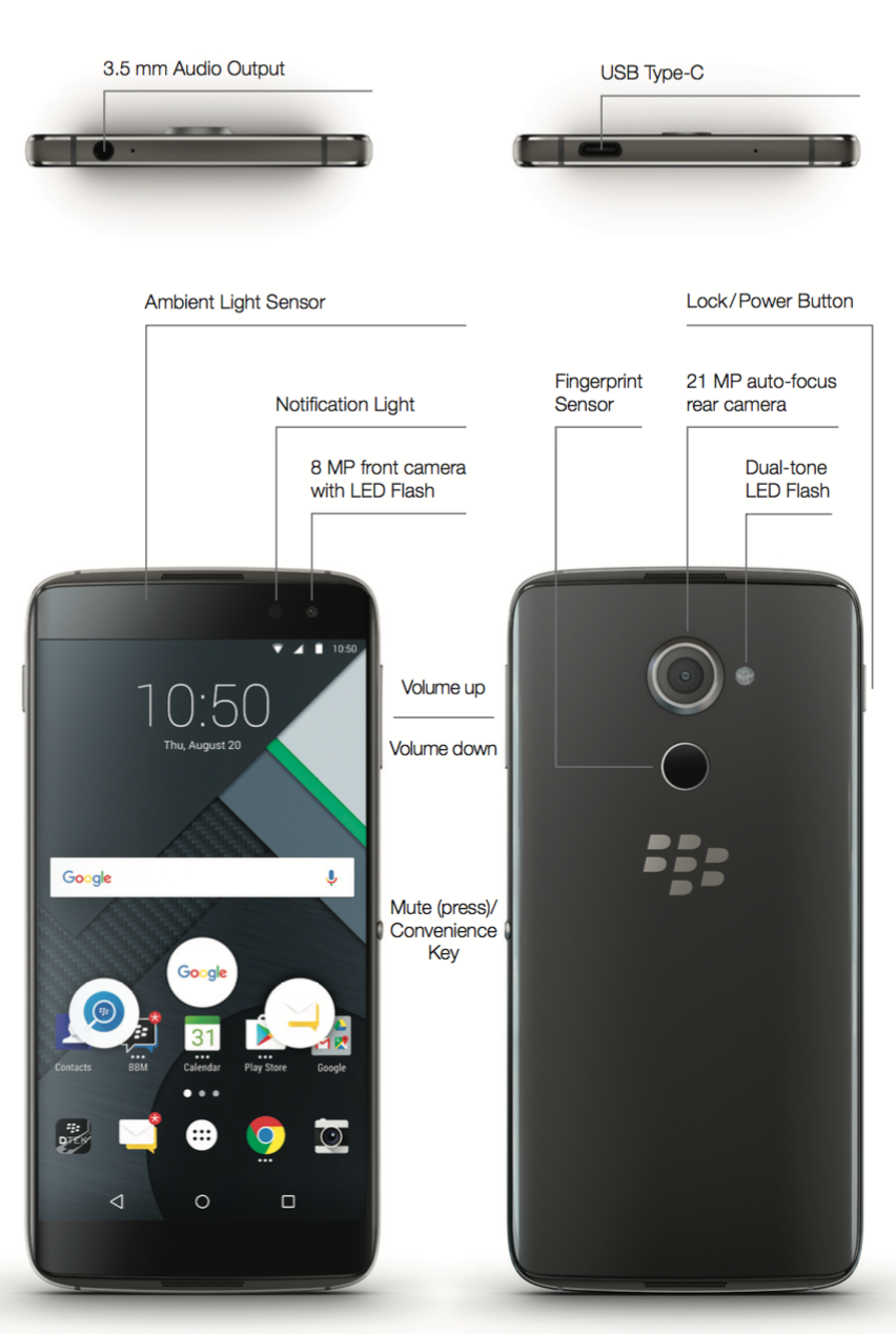 Unlocked Mobiles Blog Blackberry Dtek60 Now Available With Free Charger Specification