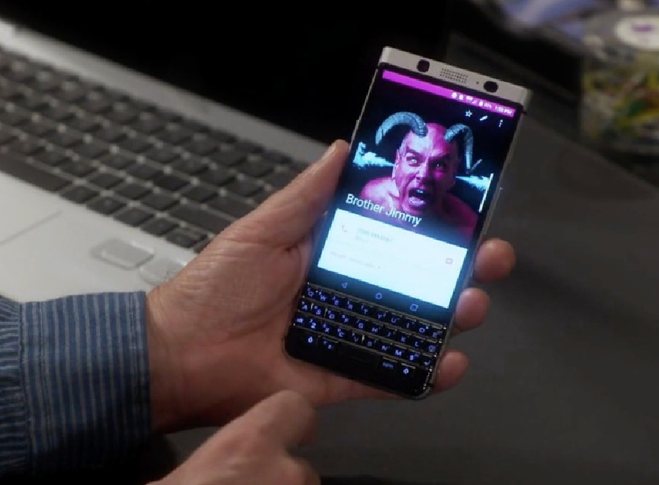 BlackBerry Mercury on ABS Last Man Standing