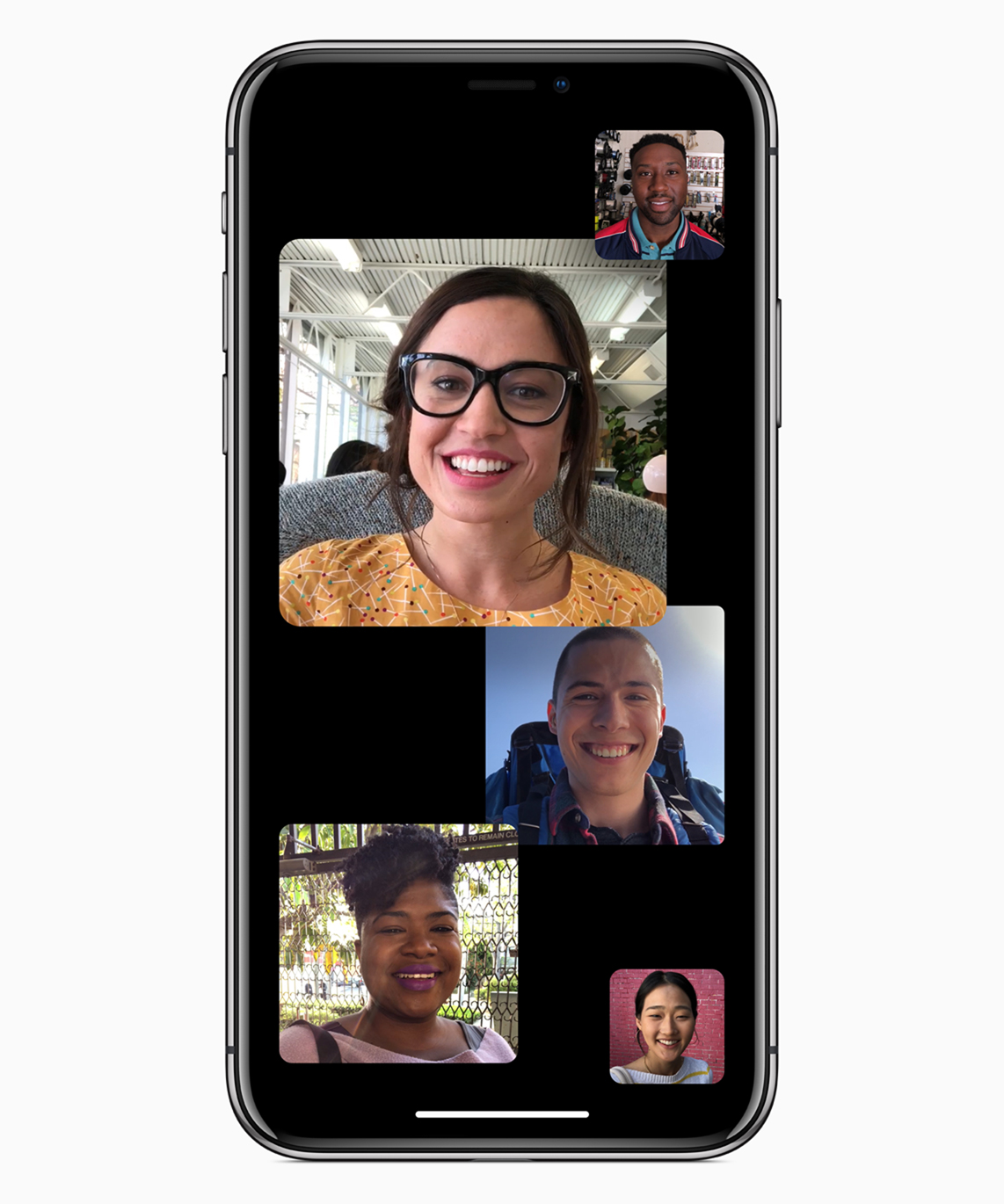 ios12 group face time