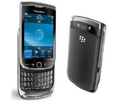BlackBerry® Torch™ 9800 Sim Free Unlocked Mobile Phone
