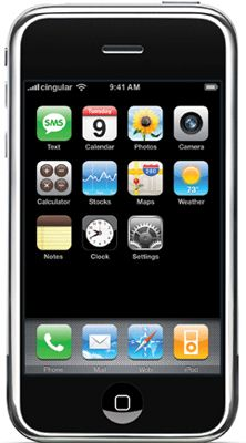 Apple iPhone Unlocked (8GB) Mobile Phone