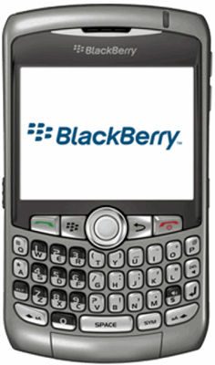 BlackBerry® Curve™ 8310 Sim Free (Including Sat Nav)