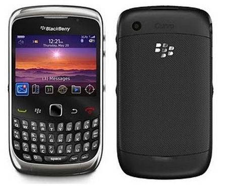 Blackberry 9300 Curve 3G Sim Free Unlocked Mobile Phone