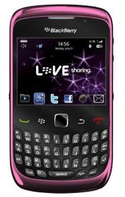 BlackBerry® Curve™ 9300 Pink Sim Free