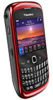 BlackBerry® Curve™ 9300 Red Sim Free