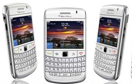 Blackberry Bold 9780 White Sim Free