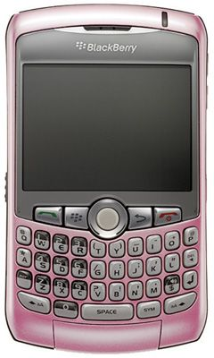 BlackBerry® Curve™ 8310 (Pink) Sim Free Unlocked Mobile Phone