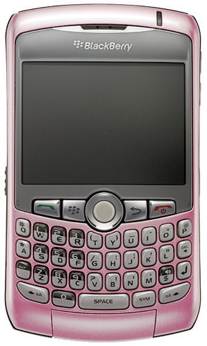 i have here a very great condition PINK blackberry curve.