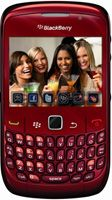 BlackBerry® Curve™ 8520 Red  Unlocked Mobile Phone