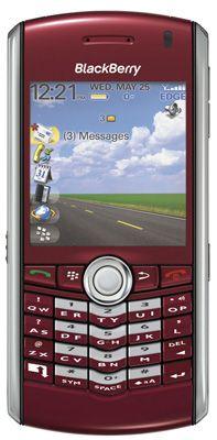 BlackBerry® Pearl™ 8120 Red Sim Free Unlocked Mobile Phone