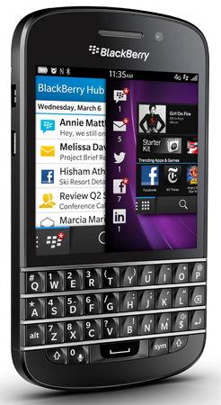 BlackBerry Q10 Sim Free