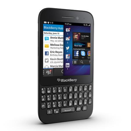 BlackBerry Q5 Sim Free