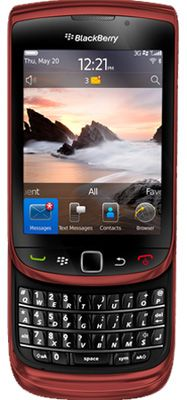 BlackBerry® Torch™ 9800 Red Sim Free