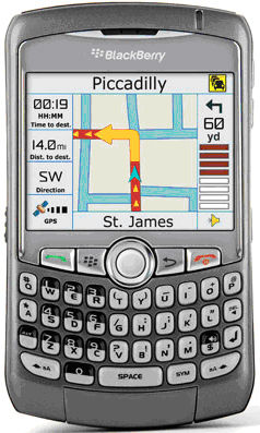 BlackBerry® Curve™ 8310 Sim Free Unlocked Mobile Phone