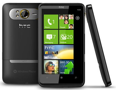 HTC HD7 Sim Free Unlocked Mobile Phone