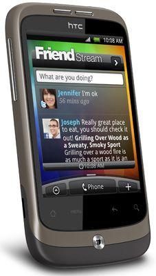 HTC Wildfire Sim Free Unlocked Mobile Phone
