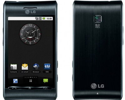 LG GT540 Optimus Sim Free Unlocked Mobile Phone