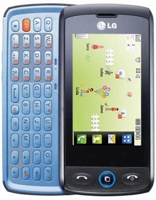 LG GW520 Sim Free Unlocked Mobile Phone