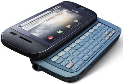 LG GW620 InTouch Max Sim Free Unlocked Mobile Phone