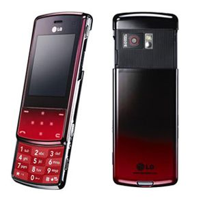 LG KF510 (Red) Sim Free Unlocked Mobile Phone