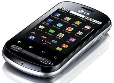LG Optimus Me P350 Sim Free Unlocked Mobile Phone