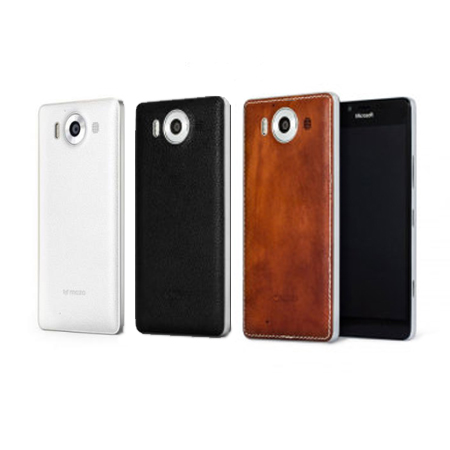 Mozo Leather Back Cover for the Lumia 950