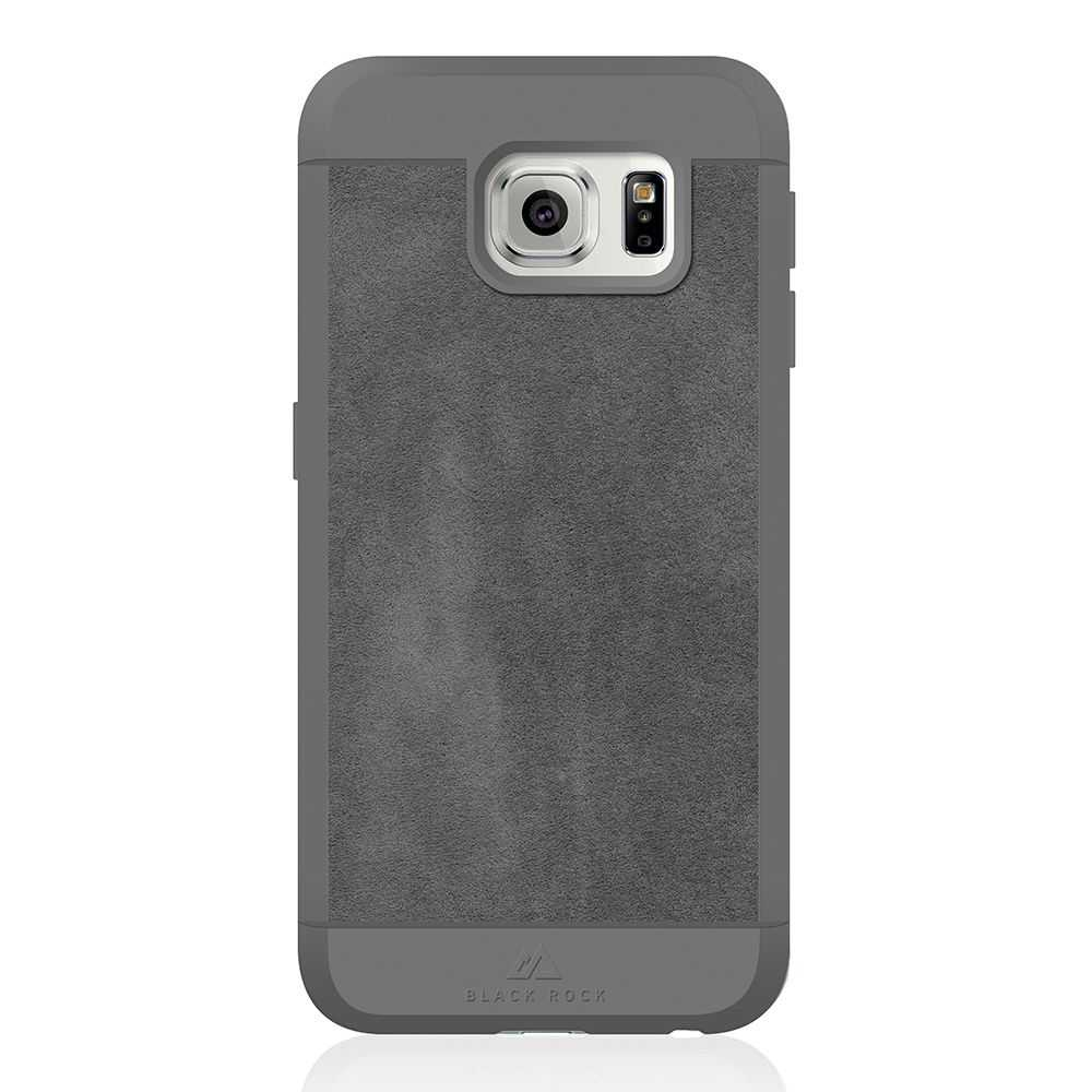 Black Rock Genuine Leather Material Case for Samsung Galaxy S7 Phone