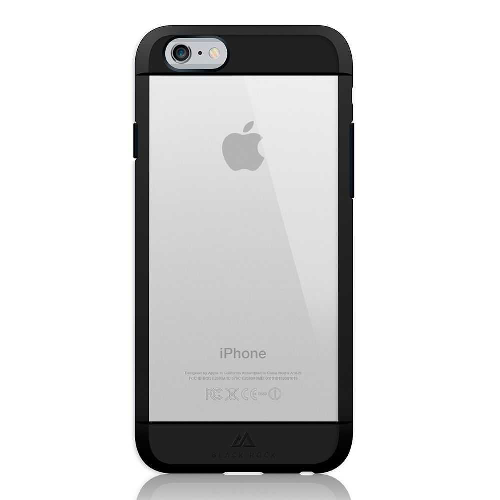 Black Rock Transparent Material Case for Apple iPhone 6/6s