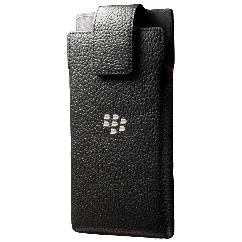 BlackBerry Leather Swivel Holster Case for BlackBerry Leap