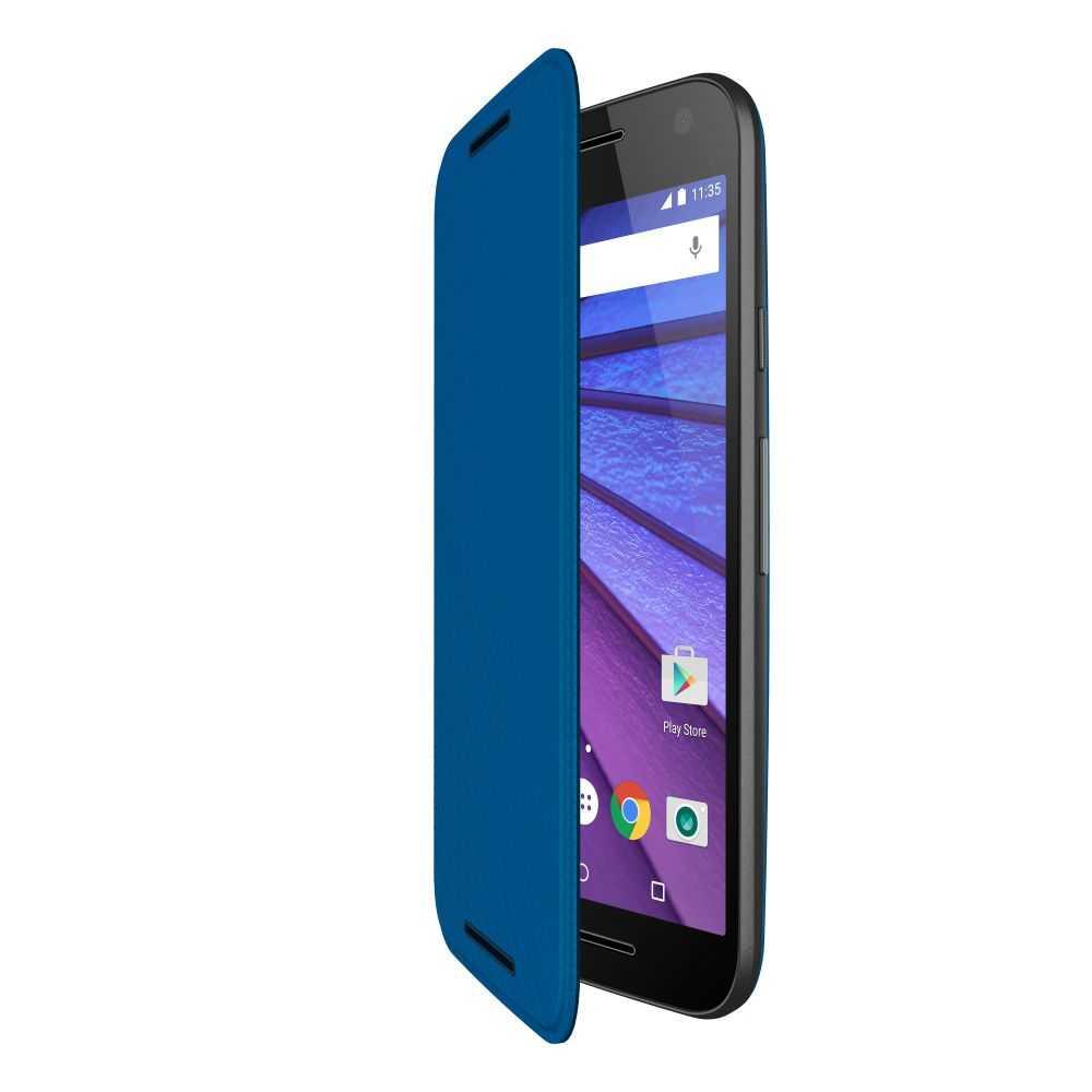Motorola Flip Case for Moto G (3rd Generation)
