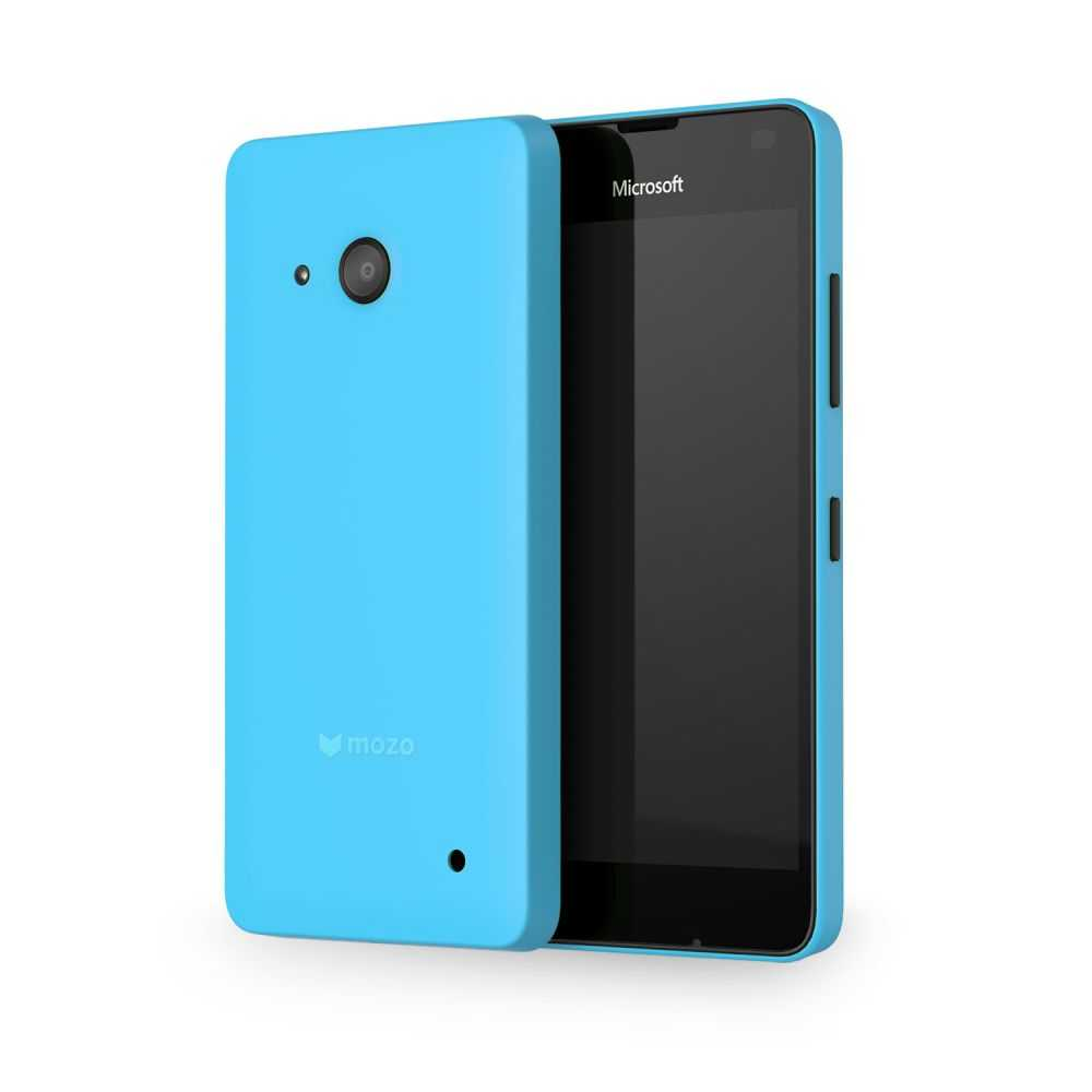 Mozo Back Cover Case for Microsoft Lumia 550