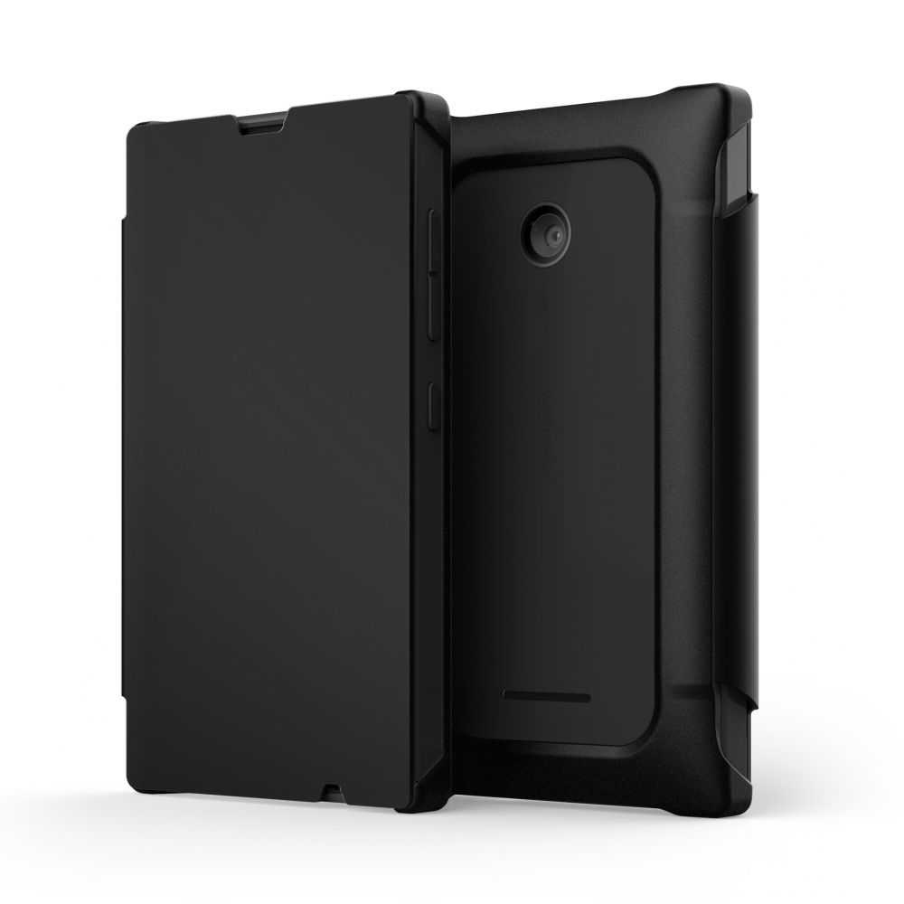 Mozo Book Case for Microsoft Lumia 435