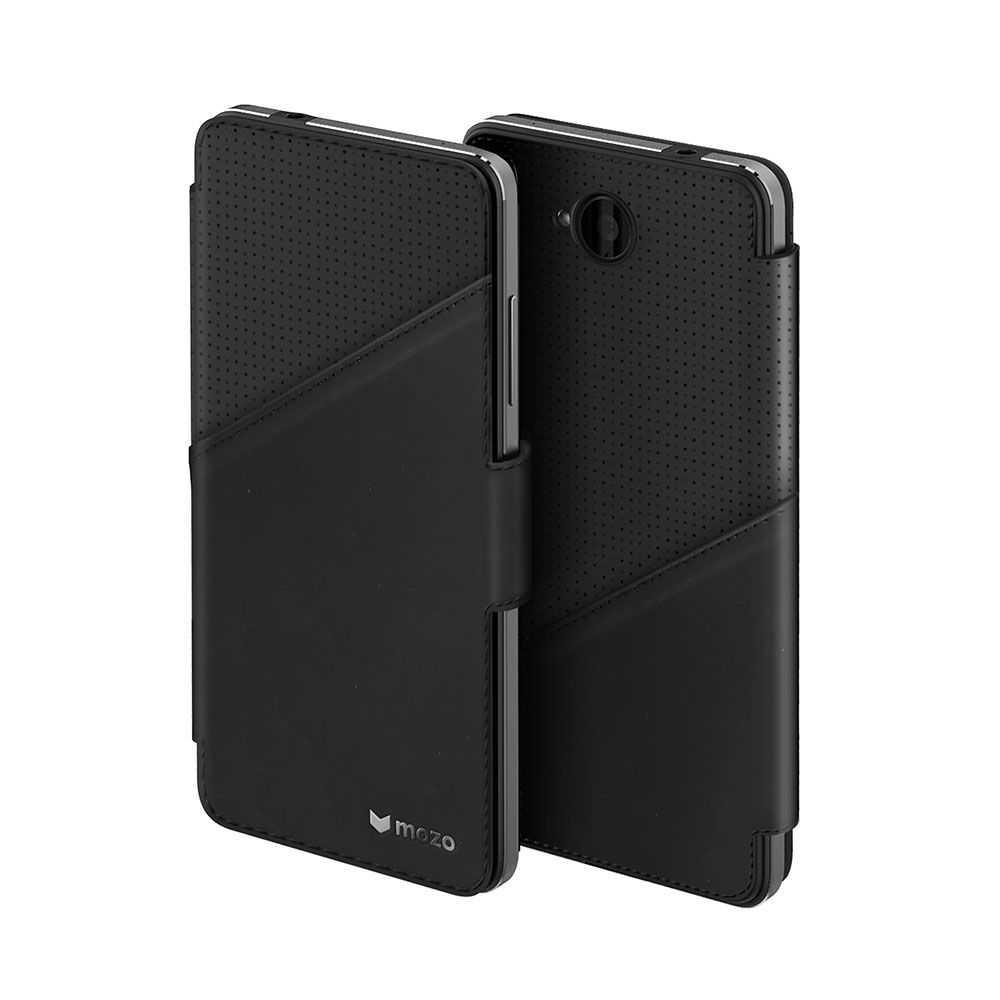 Mozo Flip Cover Case for Microsoft Lumia 650