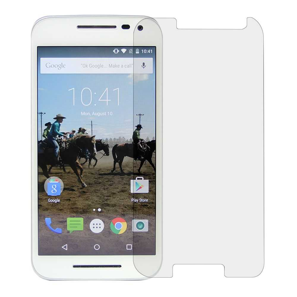 Redneck 0.33mm Tempered Glass Screen Protector for Motorola Moto G (3rd Gen)