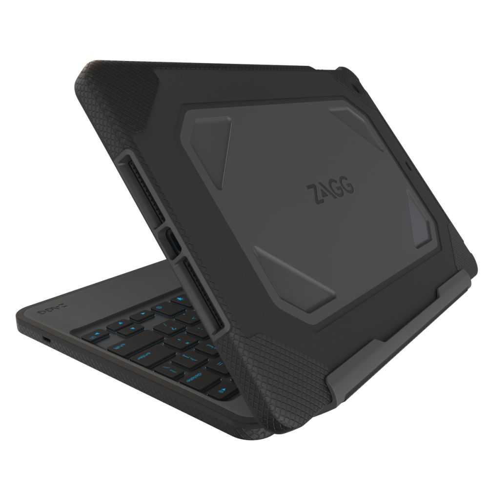 Zagg Bluetooth Keyboard Ipad Air Bluetooth Earpiece Brain Cancer Bluetooth Car Kit Honda Jazz Bluetooth Handsfree Car Kit Big W: Zagg Rugged Book Case With Wireless Bluetooth Keyboard For