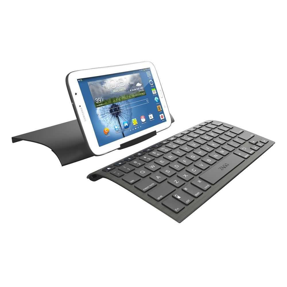 Zagg Universal Wireless Bluetooth Tablet Keyboard and Stand