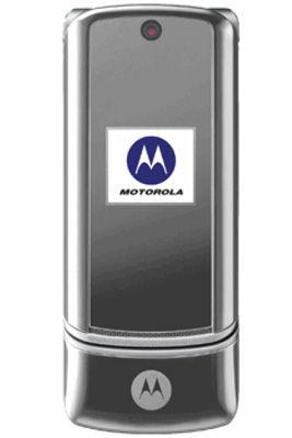 Motorola MOTOKRZR K1 Silver Mobile Phone Sim-Free Unlocked
