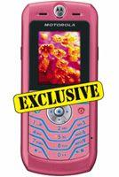 Motorola L6 Pink Mobile Phone Sim-Free Unlocked