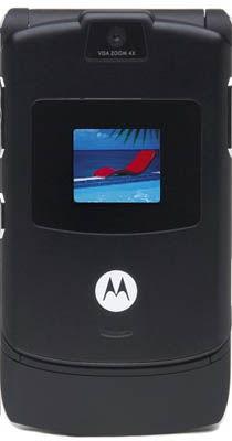Motorola Razr V3 Black Sim-Free Unlocked