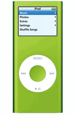 Apple iPod Nano 4GB Green