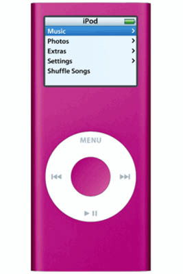 Apple iPod Nano 4GB Pink
