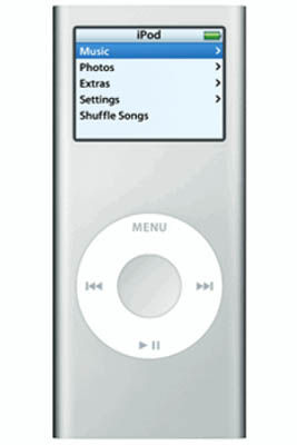 Apple iPod Nano 4GB Silver