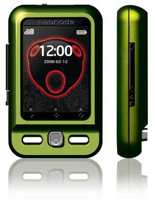 Neonode N2 (Lime) Sim Free Unlocked Mobile Phone
