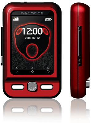 Neonode N2 (Red/Rubine) Sim Free Unlocked Mobile Phone