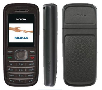 Nokia 1208 Sim Free Unlocked Mobile Phone