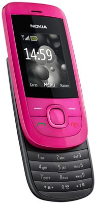 Nokia 2220 Slide Pink Sim Free Unlocked Mobile Phone