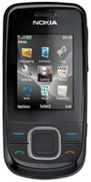 Nokia 3600 Slide (Charcoal)  Unlocked Mobile Phone