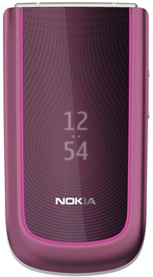 Nokia 3710 Fold Plum Sim Free Unlocked Mobile Phone